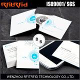 tarjeta de visita escribible de 13.56MHz NFC para Vcard