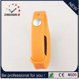 Reloj barato del podómetro del silicón de la promoción / pulsera del podómetro