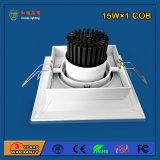90lm/W 15W 삽화 점화를 위한 알루미늄 LED 석쇠 빛