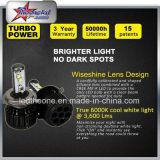 Faro eccellente di qualità Xhp70 LED per il faro massimo minimo luminoso eccellente 9007 9004 del fascio LED del motociclo 80W H4 H13 delle automobili