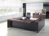 Preto de alta qualidade de Madeira em forma de L Boss Mesa Executiva (IC-SIG326)