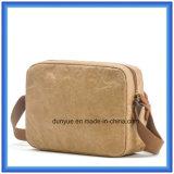 Bolsa de mensageiro de papel DuPont novo e popular, saco de ombro para compras eco-friendly Gift Tyvek Bolsa de ombro de compras de papel com cinto de nylon ajustável