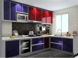 Gabinete de cozinha preto contemporâneo de Lacquer&MFC