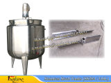 Serbatoio mescolantesi mescolantesi mescolantesi rivestito mescolantesi rivestito del serbatoio isolato serbatoio 500L dell'olio del serbatoio del vapore fatto di Ss304
