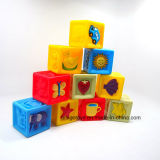 Brinquedos de venda quentes personalizados dos blocos de apartamentos do produto para o bebê