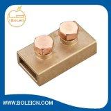 Clips de bande de C.C de couvercle d'oscillation d'alliage de cuivre de bride de foudre de mise à la terre