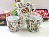 Marchio di ceramica caldo della stampa della tazza di vendita 12oz all'interno della tazza