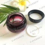 Frasco cosmético de vidro roxo do inclinação da alta qualidade para o empacotamento de Skincare (PPC-GJ-012)