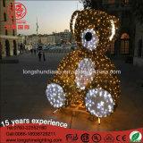 Lumière de Noël de l'ours de nounours IP65 de DEL 6m/8m 3D