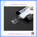 Tudo em um leitor de cartão da memória do TF da relação para o USB do Micro-USB do relâmpago do dispositivo dos Androids de Samsung do iPhone