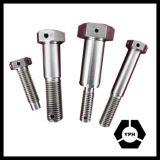 Hex Schraube DIN960 mit verringertem Schaft-und Geldstrafen-Abstand-Gewinde-Edelstahl