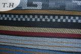 Weiches und ausgezeichnetes Sofa-Gewebe des Burgunder-Polyester-100% durch 230GSM