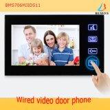 Verdrahtete videotür-Telefon-Türklingel mit Identifikation-Karte, Fernschlüssel, Wechselsprechanlage-Funktion