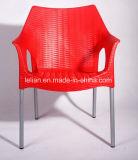 Restaurante Cadeira de jantar de empilhamento de plástico