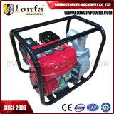 Portable 3 pouces de kérosène Soncap CE la pompe à eau pour irrigation