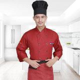 Chef-kok Mens van de Prijs van de fabriek de Naar maat gemaakte Eenvormig van Katoen