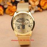OEM het Briljante Horloge van de Beweging van het Kwarts met de Riemen Fs530 van de Legering