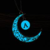 Incandescenza Pendant d'ardore della collana della luna di Magice del regalo dei monili di DIY nello scuro