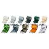 Cerca del jardín de la pantalla de la tira del PVC de la buena calidad Ral9010 450g el 19cm*35m