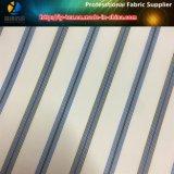 Tela teñida hilado, tela tejida raya de Teaxtile del poliester para la guarnición (S73.82)