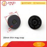 Bouton magnétique de 18mm SNAP Appuyez sur le bouton pour sac pour ordinateur portable d'accessoires de montage