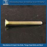 中国の製造者の黄色の亜鉛によってめっきされるTorxヘッド止めねじおよびナット