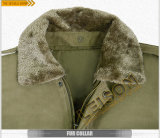 軍の冬のジャケットはナイロンおよび綿織物を採用する