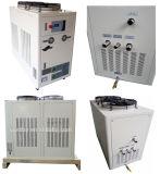 Ce refrigerado por aire evaporativo Laboratorio Leche Agua Chiller