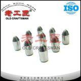 Концы кнопки цементированного карбида Yg15c на сбываниях