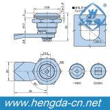 Triángulo de cuarto de vuelta de la leva del Gabinete del cilindro de cerradura (YH9768)