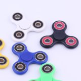 Tri Fidget Spinner Toy LED Light Hand Spinner com híbrido