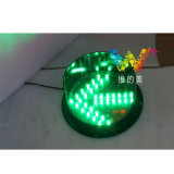 Haute luminosité 200mm flèche verte Signal feu de signalisation à LED