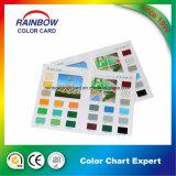 Cartão de cor de boa qualidade para revestimento de decoração