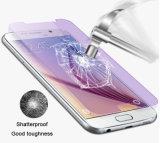Protecteurs pourprés de couverture totale de butoir d'écran en verre Tempered pour la galaxie S6 de Samsung avec le prix usine