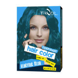 2016 Popular 79 * 2 Bright Blue Cor de cabelo temporária
