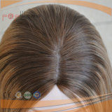 Longitud rubia amarilla de la Moda Brasileña Medio pelucas de pelo