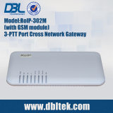 Gateway RoIP-302m de VoIP da Cruz-Rede
