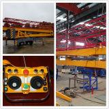 Móvil plegable diesel y eléctrico la fabricación de la polea mini grúa