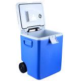 30L mini beweglicher Auto-Kühlraum Gleichstrom-12V mit dem Abkühlen und Heizungs-Funktion