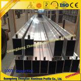 V extrusion en aluminium de profil de fente pour la construction et l'industrie