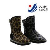Women's Leopard Bottes Mode d'impression de la neige avec des rivets Décoration Bf1610230