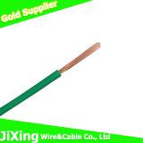 Câble de fil isolé par PVC de cuivre de conducteurs de ménage