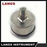 013 todo o calibre de pressão enchido Liqid inoxidável do aço