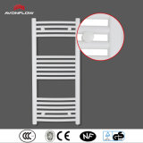 Avonflow Bianco curvo elettrico Bagno Riscaldamento Radiatore portasciugamani