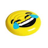 [160كم] لون أصفر [بفك] قابل للنفخ ابتسام وجه برمة عوامة