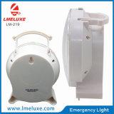 A iluminação LED de emergência recarregável portátil