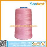 De 100% Gesponnen Naaiende Draad van de Polyester in Diverse Kleuren
