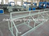 Tubo de PVC doble de plástico que hace la máquina