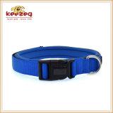 Artículo reflexivo de nylon lateral doble de los collares de perro (KC0092)