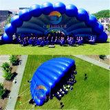 屋外のイベントのための大きいPVC膨脹可能な段階のシェルのテント